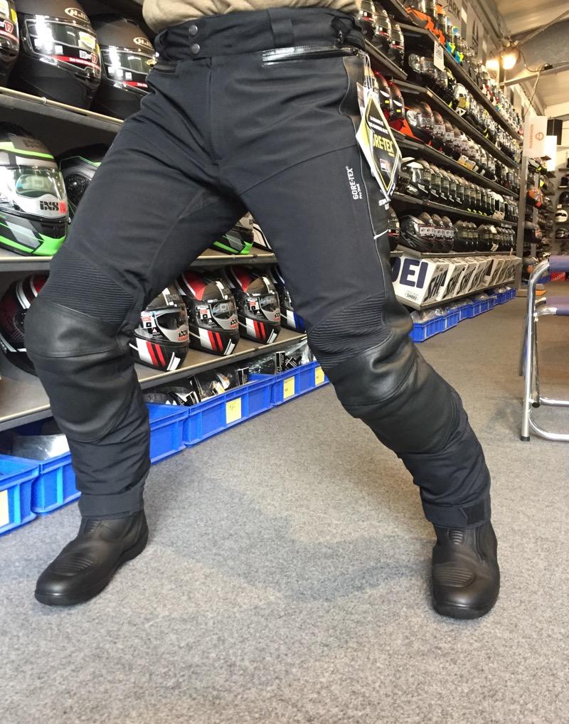 Stadler Race Pro Laminathose Gore Tex Hose Motorrad schwarz